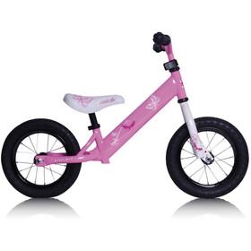 """Rebel Kidz Air Lernlaufrad 12,5"""" Schmetterling/pink"""